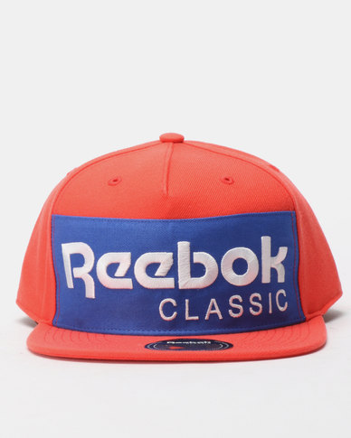 Reebok Classics Foundation Cap Red