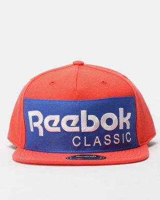1f7733798b9 Reebok Classics Foundation Cap Red