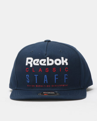 Reebok Classics Statement 6 Panel Cap Blue 56d68e49b02