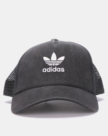 adidas Originals Trefoil Trucker Black