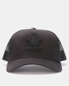 adidas Originals Aframe Trefoil Trucker Black