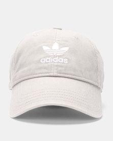 adidas Originals Washed Adicolor Baseball Cap Grey