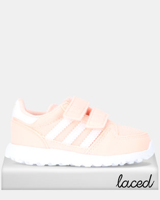 low priced 1a75c c8fcf adidas Originals Forest Grove CF Sneakers Peach