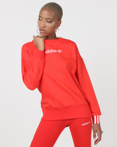 adidas Originals Coeeze Sweatshirt Red