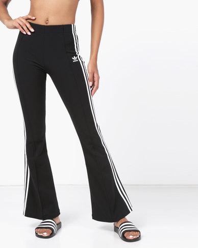 adidas Originals Flared Trackpants Black