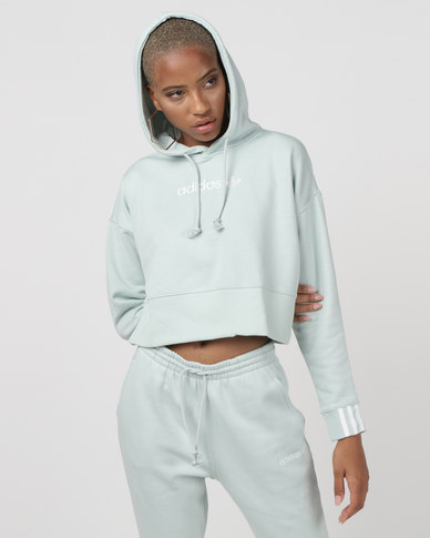 adidas Originals Coeeze Cropped Sweater Green