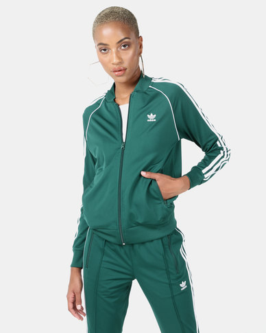 adidas Originals SST Track Top Green