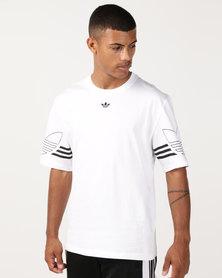 adidas Originals Outline Tee White