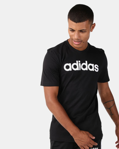 adidas Originals Essentials Linear T-Shirt Black
