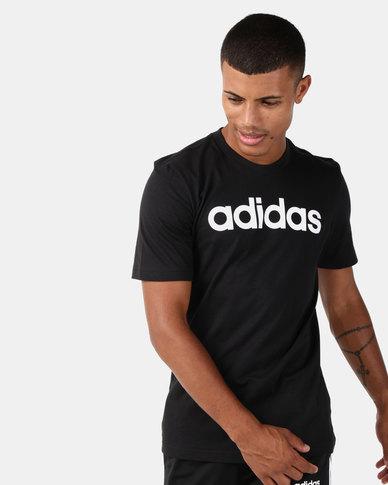 adidas Originals Essentials Linear T-Shirt Black