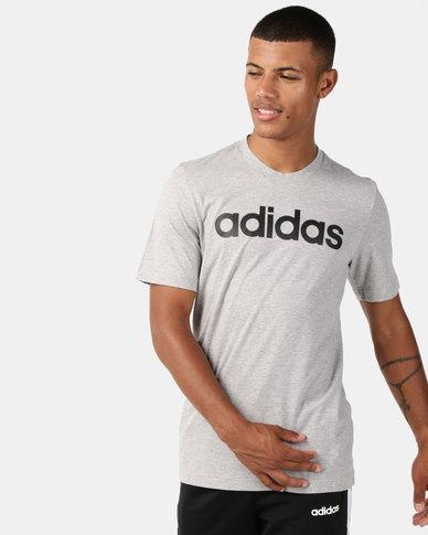 adidas Originals Essentials Linear T-Shirt Grey