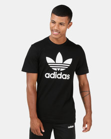 adidas Originals Mens Trefoil Tee Black