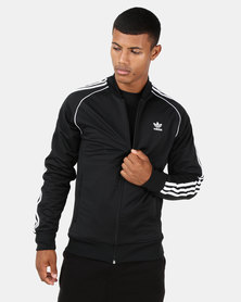 adidas Originals Mens SST Track Top Black/White