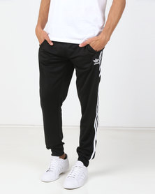 adidas Originals Mens SST Track Pants Black/White