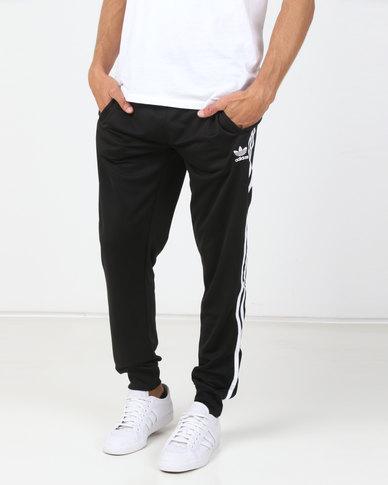 152ccbb9 adidas Originals Mens SST Track Pants Black/White