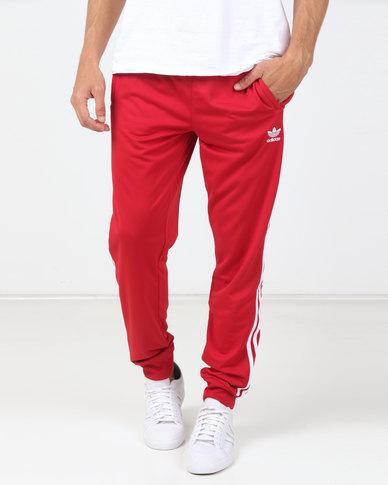 689eca895 adidas Originals Mens SST Track Pants Power Red | Zando