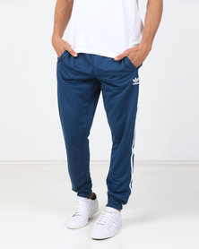 adidas Originals Mens SST Track Pants Blue
