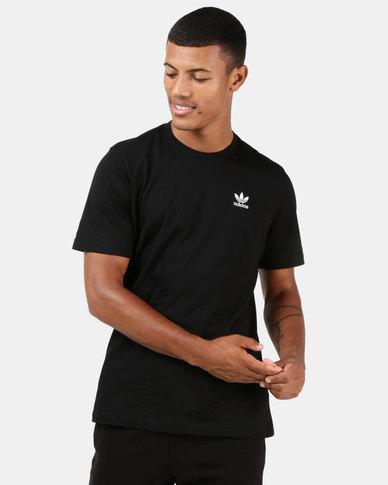adidas Originals Mens Essential Tee Black