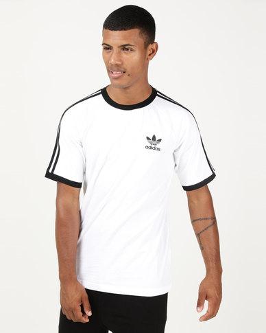 b4a8fb25 adidas Originals Mens Tanaami Cali Tee White | Zando