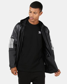 adidas Originals M Wind Full Zip Jacket Black