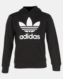 adidas Originals Trefoil Hoodie Black/Whte