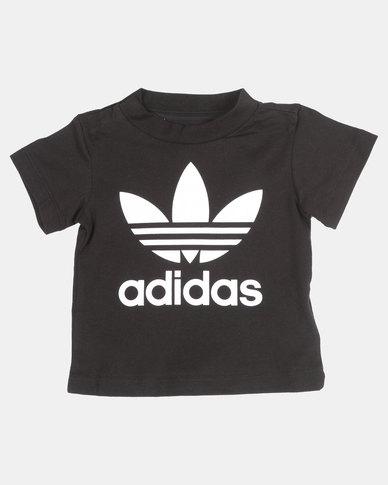 e444fbb3055 adidas Originals Trefoil Tee Black/White | Zando