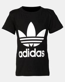 adidas Originals Little Boys Trf Tee Black