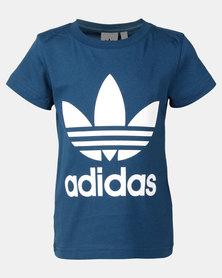 adidas Originals Little Boys Trf Tee Black