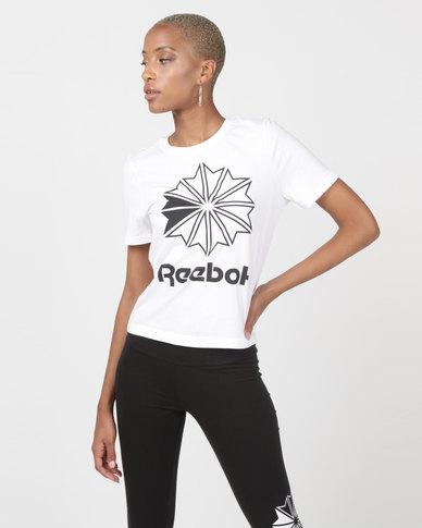 2aaba80a16c Reebok Classics Big Logo Graphic Tee White