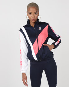 Reebok Classics Taped Track Top Navy