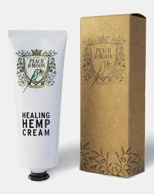 Peach and Moon Organics Healing Hemp Cream White