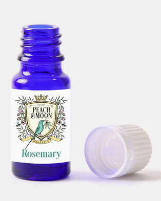 Peach and Moon Organics Rosemary Essential Oil Blue