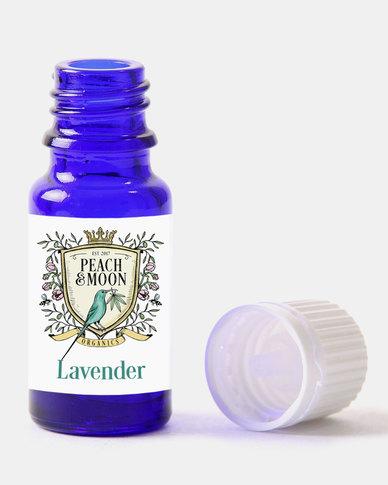 Peach and Moon Organics Lavender Essential Oil Blue