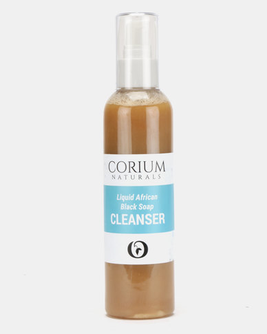 Corium 200ml Liquid African Black Soap Cleanser