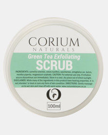 Corium 100ml Green Tea Exfoliating Scrub