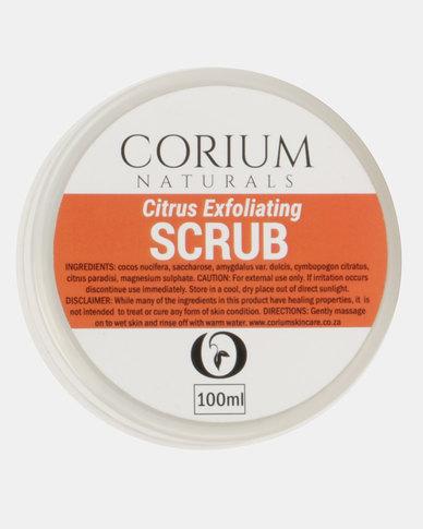 Corium 100ml Citrus Exfoliating Scrub