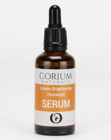 Corium 50ml Lemon Brightening Overnight Serum