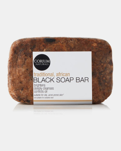Corium 180g African Black Soap Cleansing Bar