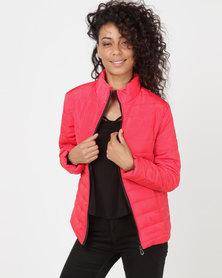 Utopia Basic Puffer Jacket Red