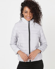 Utopia Basic Puffer Jacket Grey