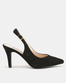 Utopia Slingback Courts Black