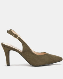 Utopia Slingback Courts Olive