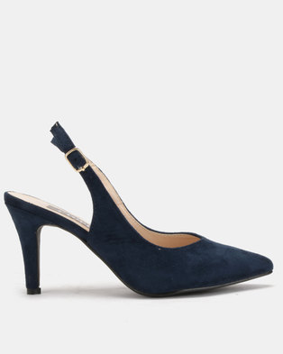 Utopia Slingback Courts Navy