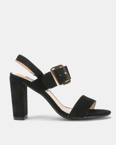 Utopia Block Heel Sandal Black