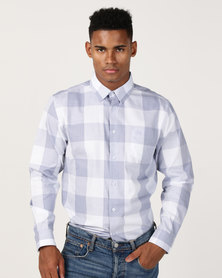 JCrew Check Shirt Blue/Grey