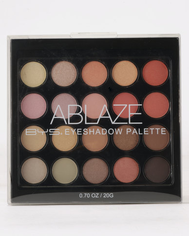 BYS Ablaze Eyeshadow Palette 20Pc Multi