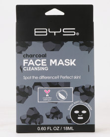 BYS Face Mask Cloth Charcoal