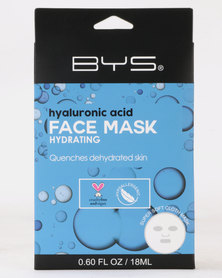 BYS Face Mask Cloth Hyaluronic Acid