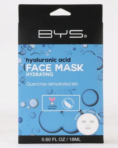 BYS Face Mask Cloth Hyaluronic Acid