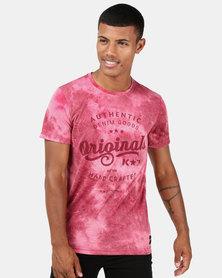 K Star 7 Orion T-Shirt Wine